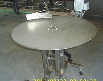 Въртяща маса за готова продукция