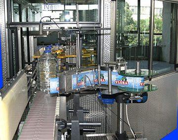 Етикетираща машина за самозалепващ се частичен  етикет
