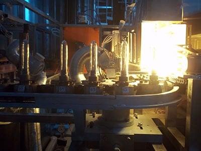 Проект Машина за издуване на РЕТ бутилки от епруветки